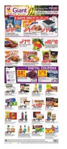 Giant Food Weekly Circular Flyer June 4 – June 10, 2021