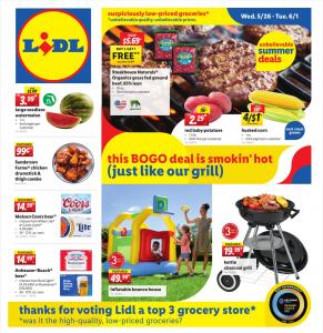 LiDL Weekly Ad May 26 - June 1, 2021 LiDL Ad This Week