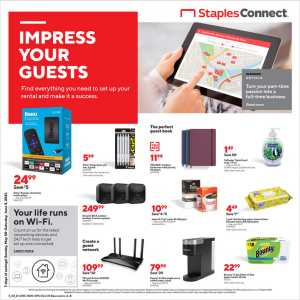 Staples Weekly ad Flyer May 30 – June 5, 2021
