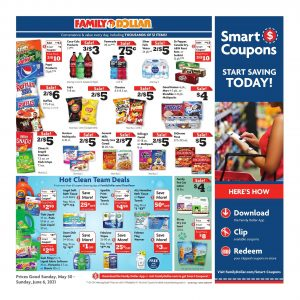 Family Dollar Weekly Ad Flyer May 30 – June 5, 2021