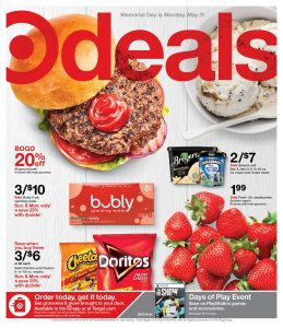 Target Weekly ad Flyer May 30 – June 5, 2021