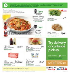 Publix Weekly ad 6/9/2021 - 6/15/2021