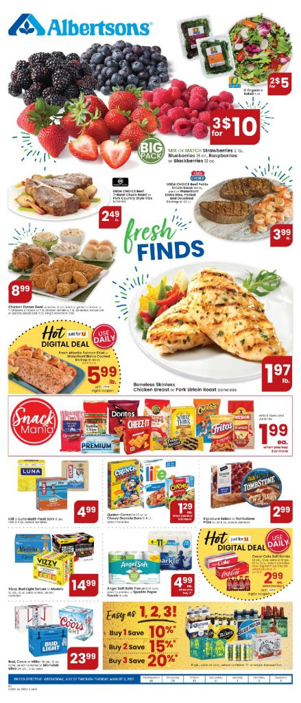 Albertsons Weekly ad Flyer 7/28/21-8/3/21