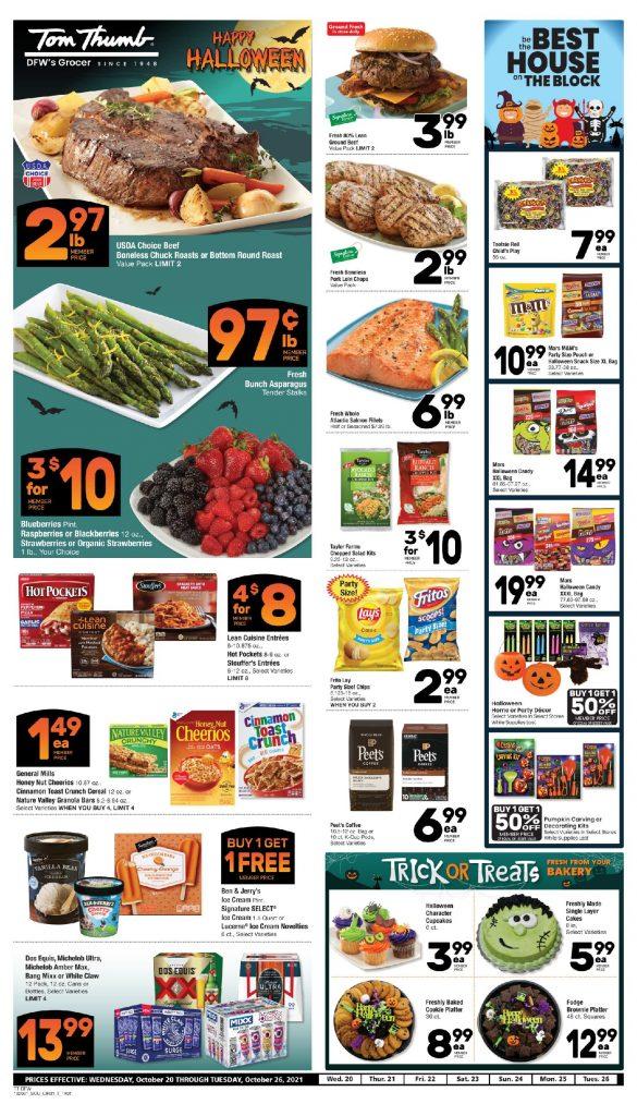 Tom Thumb Weekly Ad Flyer 10/20/21-10/26/21