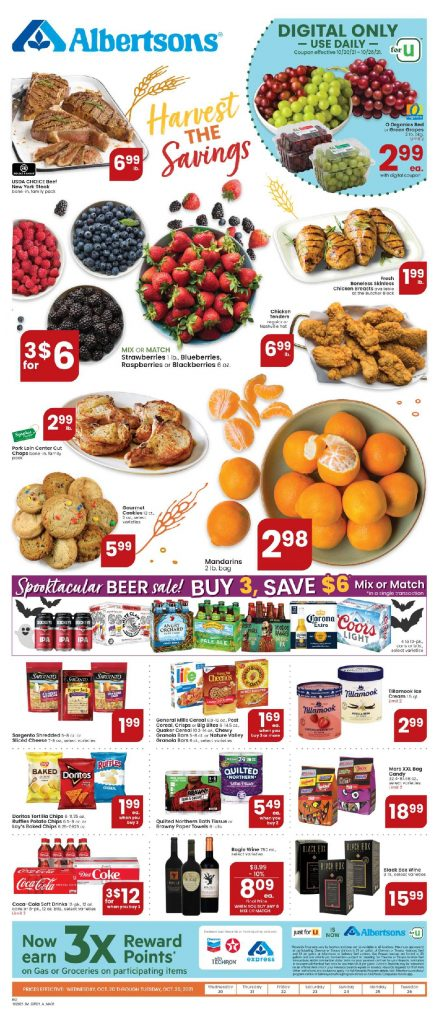 Albertsons Weekly ad Flyer 10/20/21-10/26/21